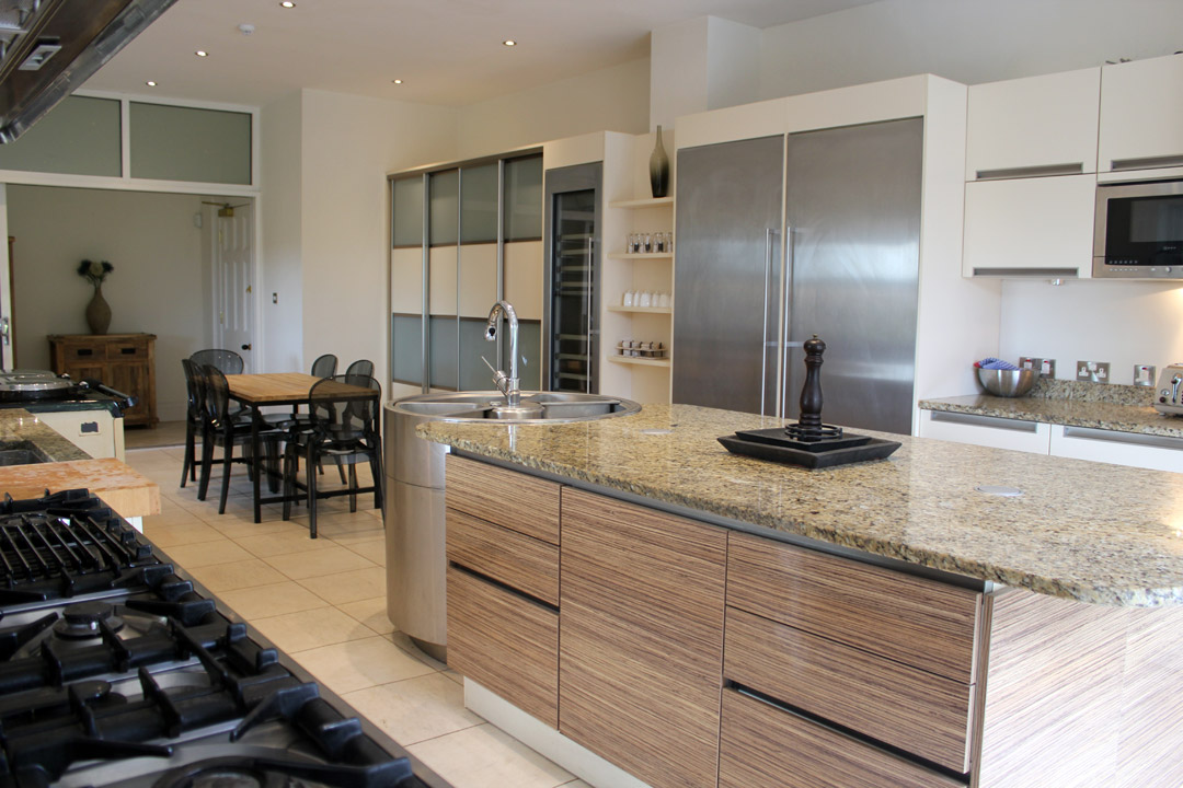 Large and modern kitchen